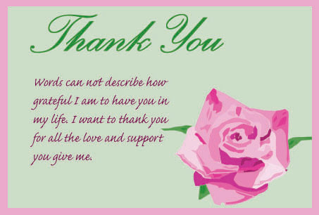 Samples Of Thank You Card | Search Results | Calendar 2015